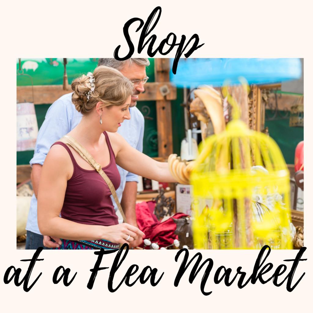 Shop at a Flea Market