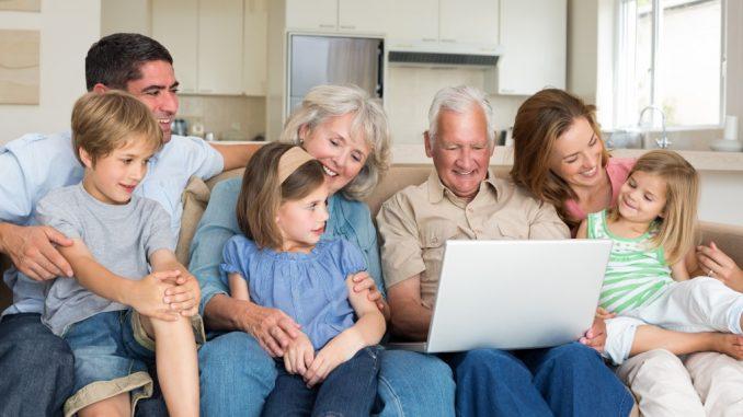 Raising children while caring for seniors